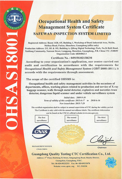 Safeway Inspection System Limited